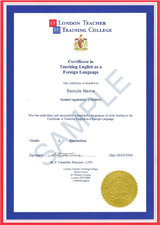 Certificate in TEFL - 60 Hour Course